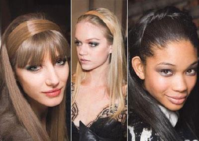 2009 Saç modelleri, saç şekilleri, saç trendleri