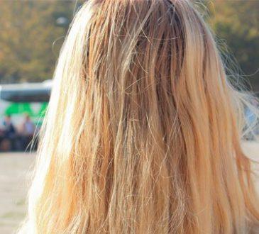 Oksijenli Su ile Saç Rengi Açma
